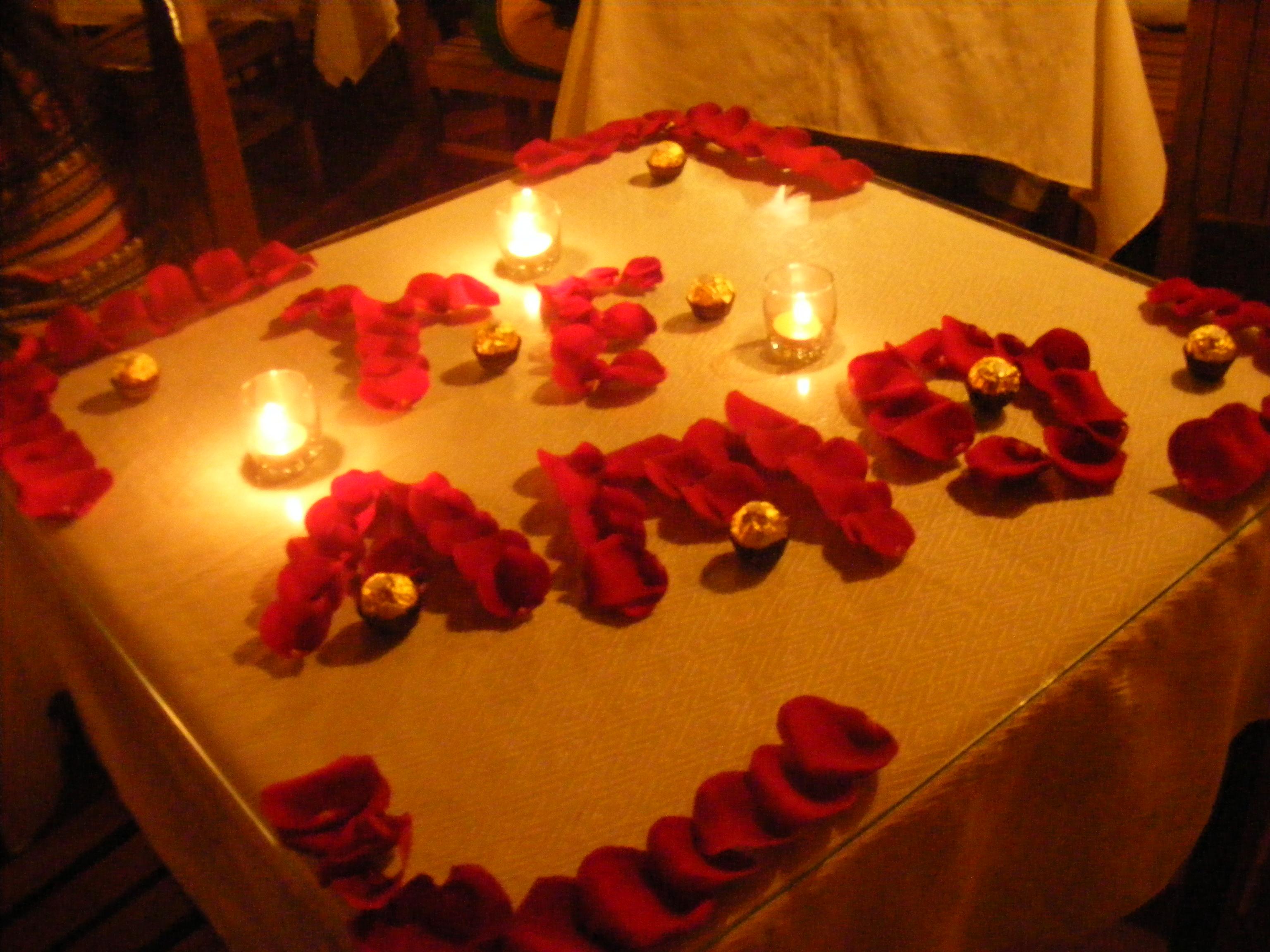 Cena romantica rekaditos - Detalles para cena romantica ...